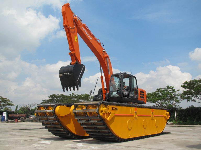Amphibious Excavator Hitachi ZX210 (27)