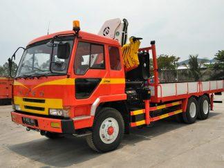 Joshua Equipment - Truck Mounted Crane Mitsubishi FV418P (5)