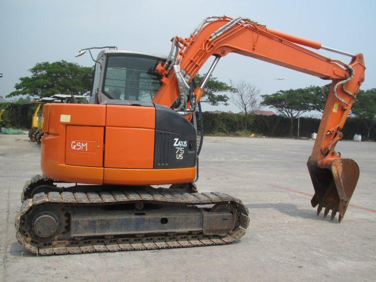 Hitachi Zaxis ZX75 - Excavator - Beko (2)