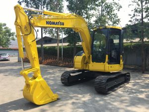 Komatsu PC78US-6 Excavator - Beko - Bego Bekas - Built-up (5)