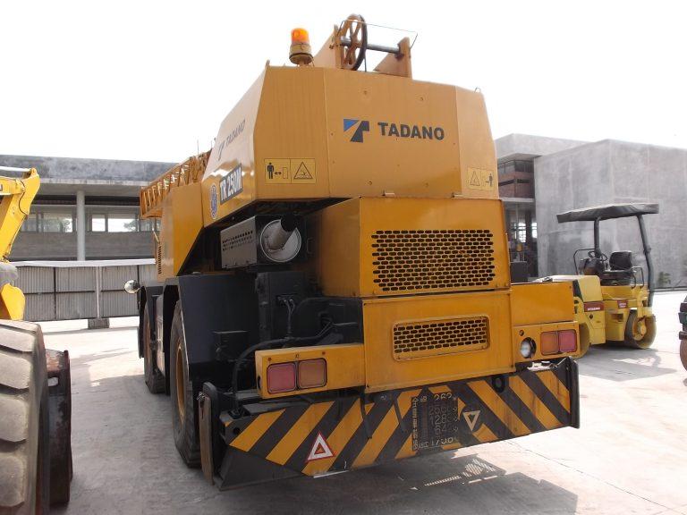 Tadano TR250M-3 Rough Terrain Crane